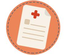 icoon brief ziekenhuis